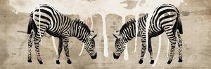 Two Zebras by Erin Clark