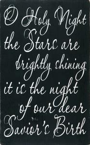 O Holy Night by Erin Deranja