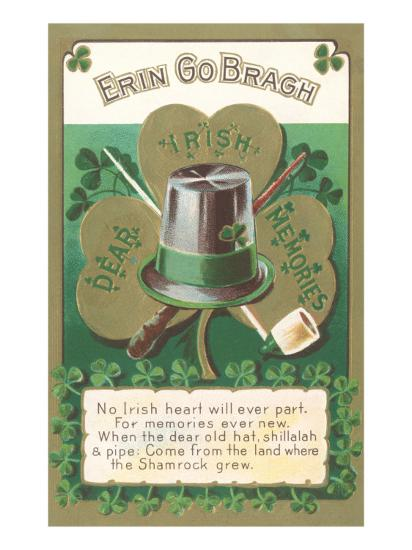 Erin Go Bragh, Dear Irish Memories--Art Print