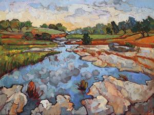Hill Country Waters by Erin Hanson