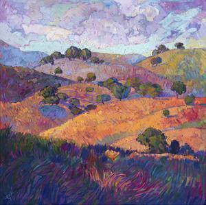 Hills of Paso by Erin Hanson