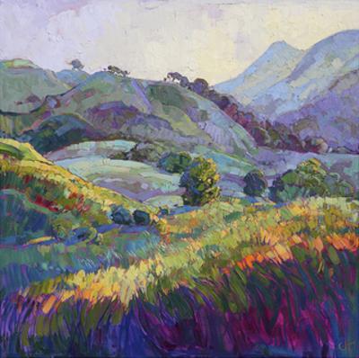 Jeweled Hills by Erin Hanson
