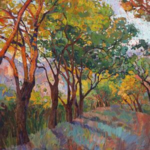 Lane of Oaks by Erin Hanson