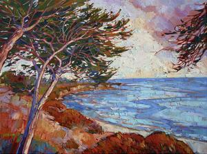 Monterey Cypress by Erin Hanson