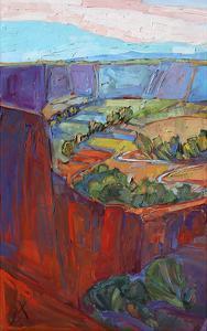 Patterns in Triptych (left) by Erin Hanson
