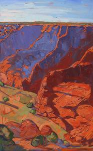 Patterns in Triptych (right) by Erin Hanson