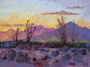 Violet Point by Erin Hanson