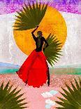 The Sun, Stars and Moon-Erin K. Robinson-Art Print