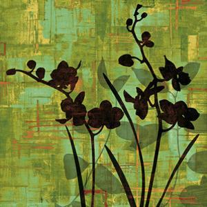 Silhouette on Green by Erin Lange