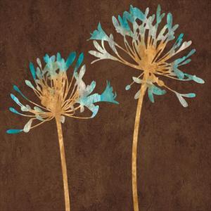 Teal Bloom II by Erin Lange