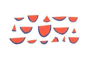 Watermelons by Erin Lin