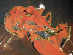 Abstract Lobster I by Erin McGee Ferrell