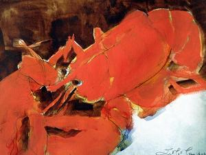 Abstract Lobster II by Erin McGee Ferrell