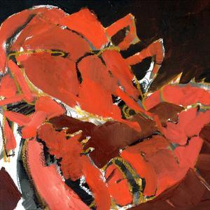 Abstract Lobster V by Erin McGee Ferrell