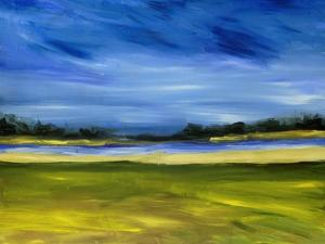 Bright Marsh III by Erin McGee Ferrell