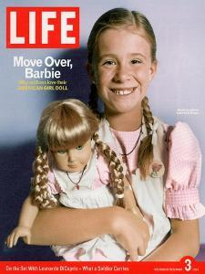 8-year-old Amelia and her American Girl doll Kristen on the cover of LIFE 12-03-2004. by Erin Patrice O'brien