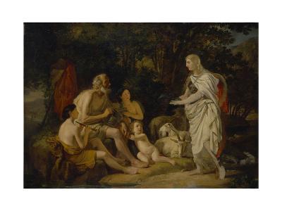 Erminia and the Shepherds, 1824-Karl Pavlovich Briullov-Giclee Print