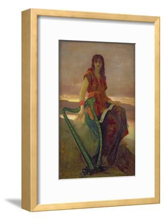 The Harpist, 1859