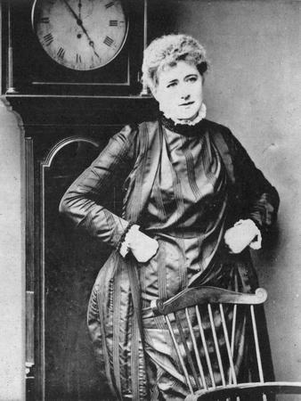 Ellen Terry, British Actress, 1887