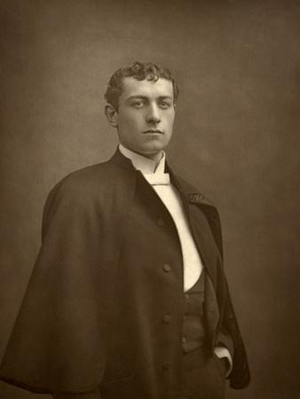 Lewis Waller, British Actor, 1887