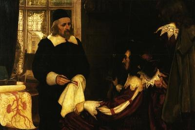 William Harvey Demonstrates Circulation Of The Blood Before Charles I