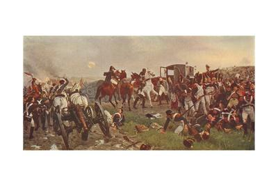 'On the Evening of the Battle of Waterloo', 1879 (1906)
