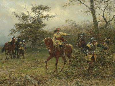 The Boscobel Oak, 1889