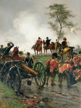 Wellington at Waterloo, 1886