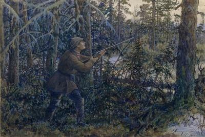 Capercaillie Hunting, 1937