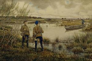Returning from the Hunting, 1937 by Ernest Ernestovich Lissner