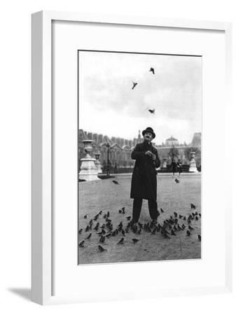 A Bird Charmer, Paris, 1931