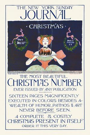 The New York Sunday Journal, Christmas, Out Dec. 13, Don't Miss It