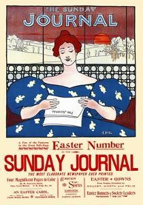 The Sunday Journal, Easter Number by Ernest Haskell