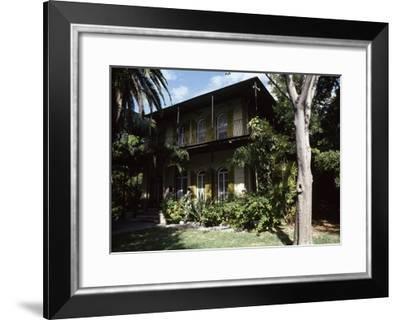 Ernest Hemingway's House, Key West, Florida, USA--Framed Giclee Print