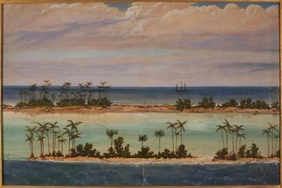 Triptych of an Atoll, 1871