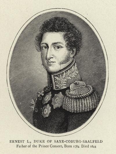 Ernest I, Duke of Saxe-Coburg-Saalfeld--Giclee Print