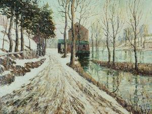 Melting Snow by Ernest Lawson