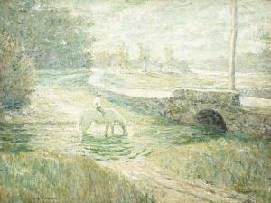 The White Horse by Ernest Lawson