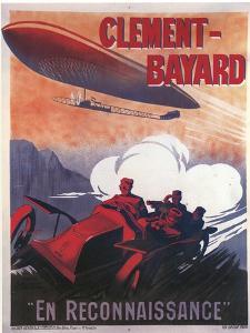 Clement-Bayard En Reconnaissance by Ernest Montaut
