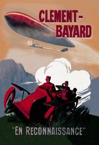 Clement-Bayard, French Dirigible by Ernest Montaut