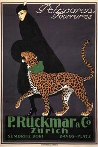 Fur Goods P. Rückmar and Co, C. 1910 by Ernest Montaut