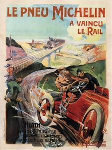 Michelin Tires, 1905 by Ernest Montaut