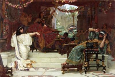 Esther Denouncing Haman to King Ahasuerus, 1888