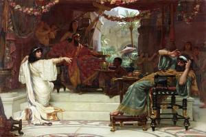 Esther Denouncing Haman to King Ahasuerus, 1888 by Ernest Normand