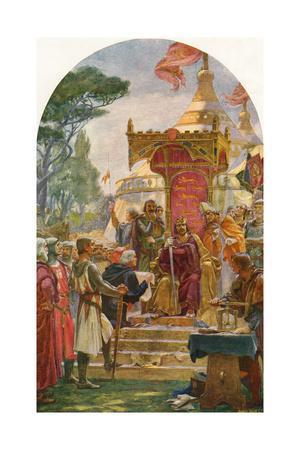 King John Granting the Magna Carta at Runnymede