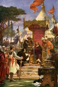 King John Signs Magna Carta, 15 June 1215 by Ernest Normand