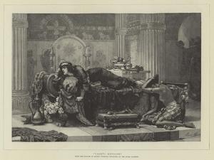 Vashti Deposed by Ernest Normand