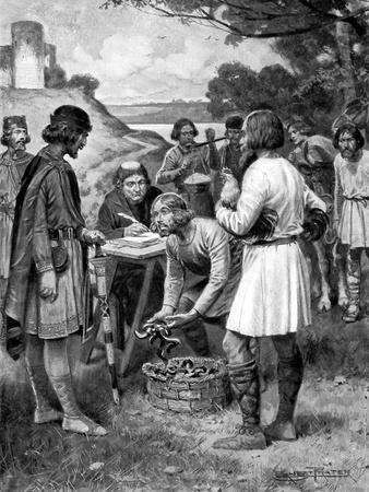 Paying Rent in Saxon Times