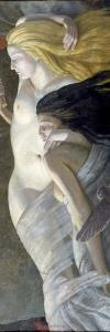 Night and Evening, C.1930 by Ernest Procter