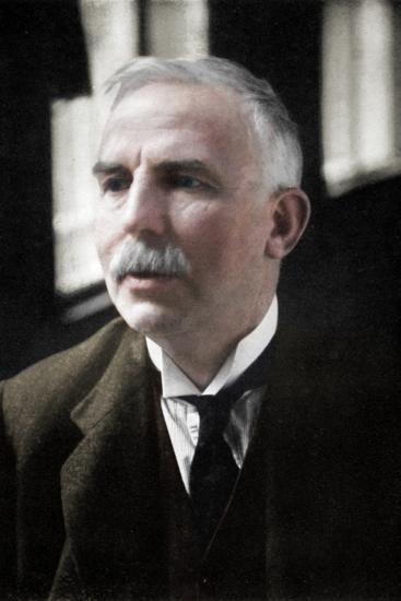 Ernest Rutherford (1871-1937), Nobel prize-winning atomic physicist, c1908-Unknown-Photographic Print